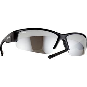 UVEX Sportstyle 215 Glasses black/silver